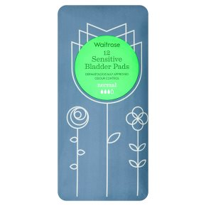 Waitrose Sensitive Bladder Pads Normal