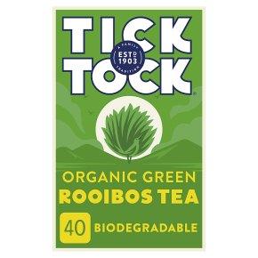 Tick Tock Rooibos Green Tea Bags
