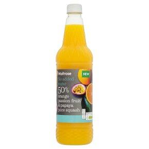 Waitrose Orange, Passion Fruit & Papaya Juice