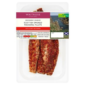 Waitrose Sweet Red Pepper Smoked Mackerel