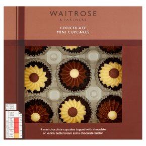 Waitrose Chocolate Mini Cupcakes