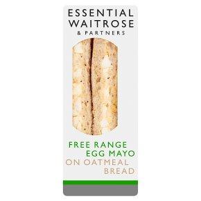 Essential Waitrose egg mayonnaise sandwich