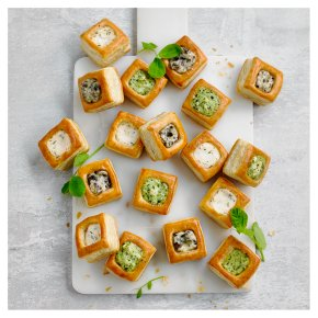 36 Assorted Vol-au-Vents