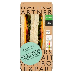 GOOD TO GO Red Leicester Cheese Salad Sandwich