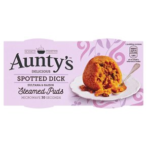 Aunty's Steamed Spotted Dick Puddings