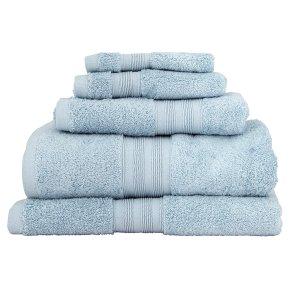 Waitrose Home eggshell Egyptian cotton bath sheet