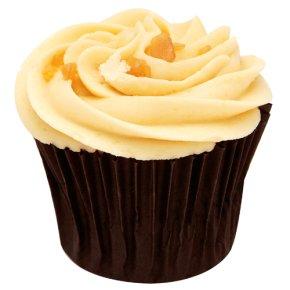 Banana & toffee cupcake