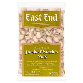 East End Nuts - Roasted & Salted Pistachios