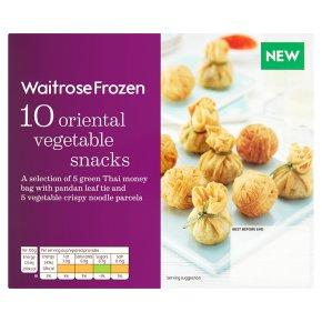 Waitrose Frozen 10 Oriental Vegetable Snacks