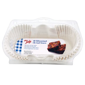 Tala 1lb siliconised loaf liners, pack of 40
