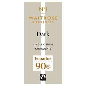 No.1 Ecuador Dark Chocolate 90%