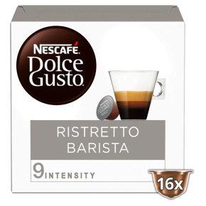 Nescafé Dolce Gusto espresso barista coffee pods