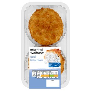 essential Waitrose Cod Fishcakes