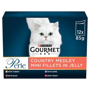 Gourmet Perle Cat Food Pouches Country Medley