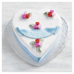 Fiona Cairns Rosebuds Heart Cake Waitrose Partners