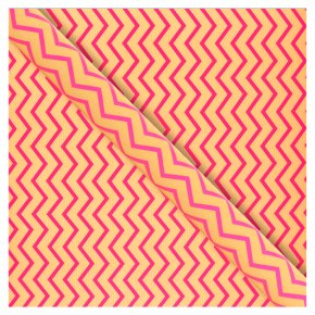 Waitrose Pink Chevron Gift Wrap