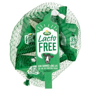 Arla Lactofree uht Portion Packs