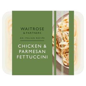 Waitrose Italian Chicken & Parmesan Fettucine