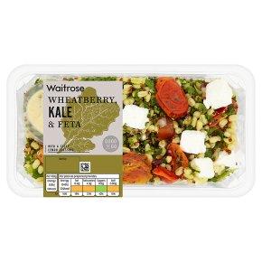 Waitrose GTG wheatberry,kale & feta salad