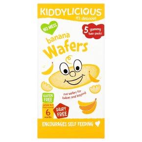 Kiddylicious banana 10 wafers