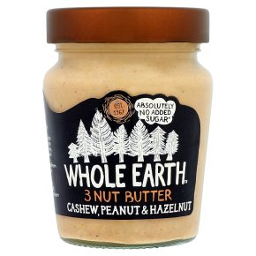 Whole Earth Cashews, Peanuts & Hazelnuts