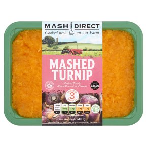 Mash Direct Mashed Turnip