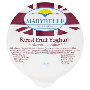 Marybellet forest fruit yogurt