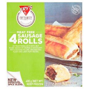 Frys FRZ Ve 4 Sausage Rolls