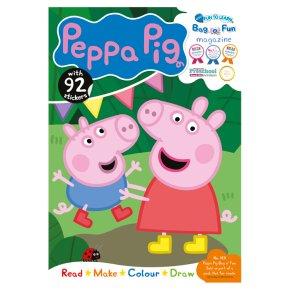Fun to learn Peppa Pig big bag-o-fun magazine
