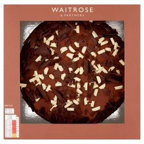 Waitrose Hand Finished Chocolate Cake