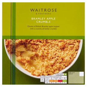 Waitrose Bramley Apple Crumble