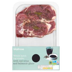 Waitrose Welsh Lamb Leg Steaks