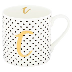 Waitrose 'C' Bone China Mug