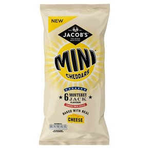 Jacob's Monterey Jack Mini Cheddars