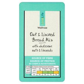 Waitrose LoveLife oat & linseed bread mix