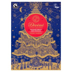 Divine 70% Dark Chocolate Advent Calendar
