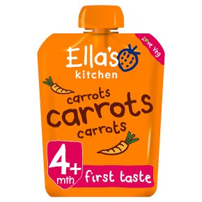 Ella's Kitchen carrots carrots