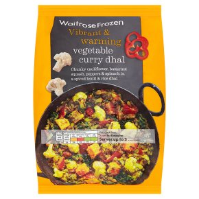 Waitrose Frozen Vegetable Curry Dhal