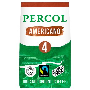 Percol Fairtrade Americano Ground Coffee