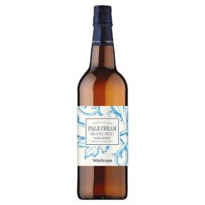 Waitrose Pale Cream, Sherry