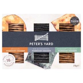 Peter's Yard Sourdough Crispbread Selection