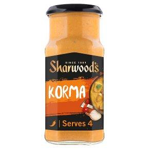 Sharwood's korma