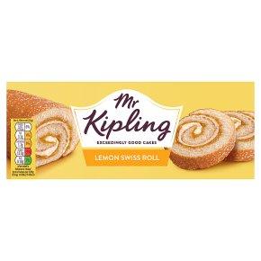Mr Kipling Lemon Swiss Roll