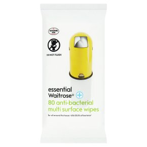 essential Waitrose multi surface wipes