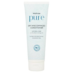 Waitrose Pure Dry & Damaged Conditioner
