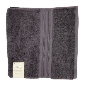 Waitrose Home Egyptian Cotton Bath Towel Grey