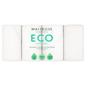 Waitrose ECOlogical Kitchen Towel 100% Recycled