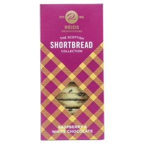 Reids Shortbread Rspbry & Wht Choc