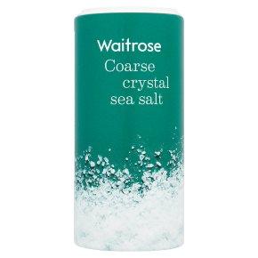 Waitrose coarse crystal sea salt
