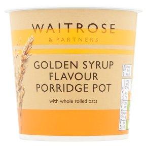 Waitrose LoveLife Golden Syrup Flavour Porridge